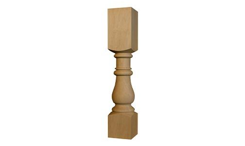 Country Squire Dining Table Leg
