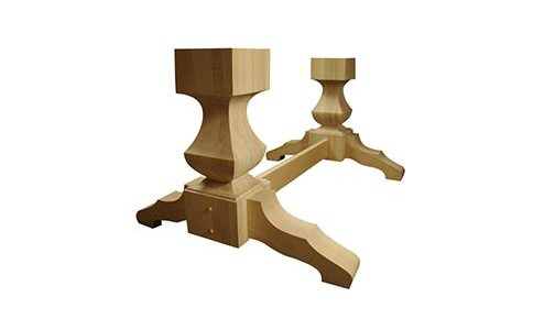 Tall Old World Double Pedestal Kit