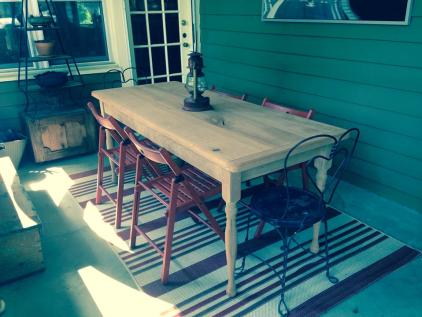 Colonial Dining Table Leg