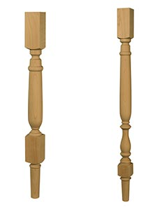 Shanty 2 Chic Short Stool Leg and Shanty2Chic Tall Stool Leg