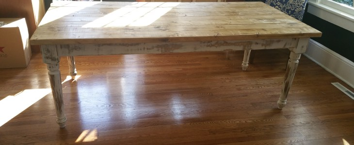 Custom Table Legs for a Designer Inspired Design