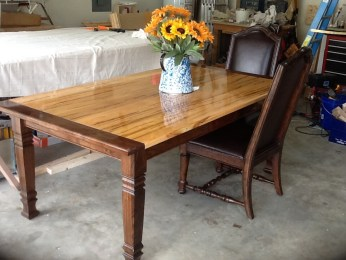 Square Farm Dining Table Leg