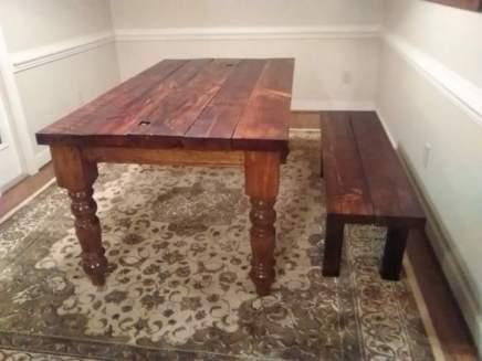 Husky Dining Table Leg