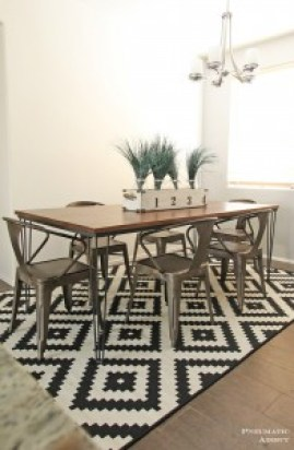 Set of 4 Hairpin Table Legs