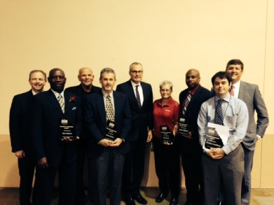Smedberg Receives Front Line Leadership Award