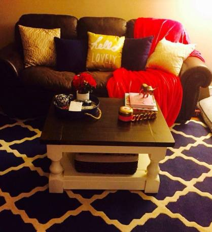 Shanty to Chic Coffee Table Leg