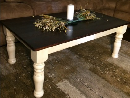 Colonial Coffee Table Leg