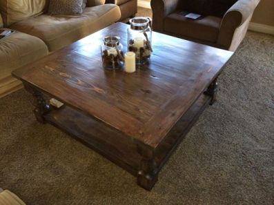 Shanty to Chic Coffee Table Leg