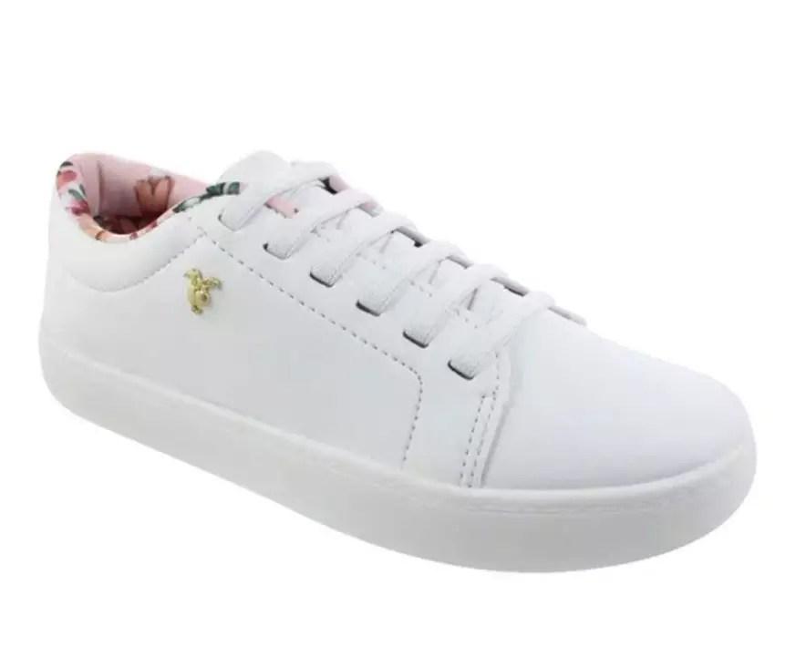 Tênis Branco Básico Oscar Calçados