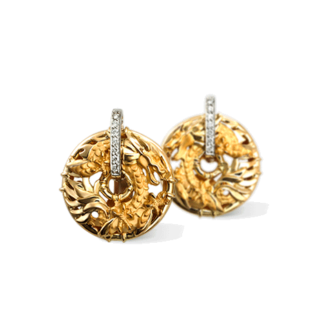 Carrera y Carrera Shanghai Earrings