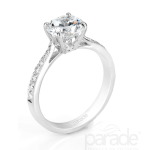 Parade Designs Diamond Engagement Rings and Wedding Bands are available at Oster Jewelers. Perfect as a semi-mount or a full ring! Call Oster Jewelers for more information.
