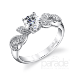 Parade Designs Diamond Engagement Rings and Wedding Bands are available at Oster Jewelers. Perfect as a semi-mount or a full ring! Call Oster Jewelers for more information. #mybridalstyle #mydiamondstyle