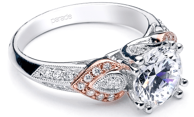 Parade Designs Diamond Engagement Rings and Wedding Bands at Oster Jewelers #mybridalstyle #mydiamondstyle