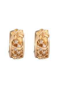 Carrera y Carrera .10ctw Diamond Sierpes Earrings | Oster Jewelers