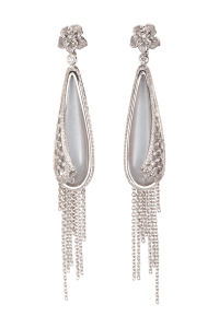 Carrera y Carrera 1.24ctw Diamond Sierpes Earrings | Oster Jewelers