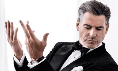 Pierce Brosnan Speake-Marin's New Brand Ambassador