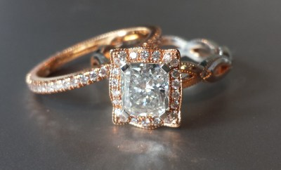Katharine James Bella's Love Mount with a Louis Glick Diamond at Oster Jewelers #mybridalstyle #mydiamondstyle
