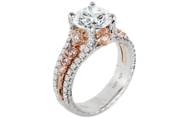 Kack Kelege KPR-587-2 wins best bridal design at JCK's 2015 Jewelers Choice Awards #mybridalstyle #mydiamondstyle