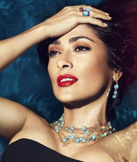 salma hayek for pomellato