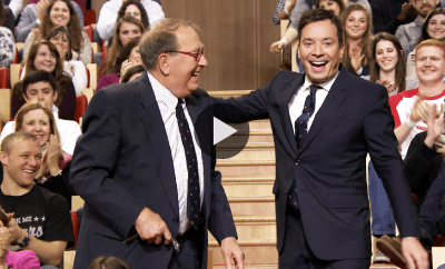 Jimmy Fallon Surprises his Father-in-Law with a Bremont MBI live on his Show!