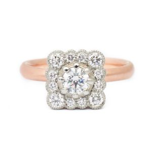 Anne Sportun Vintage Bridal Collection at Oster Jewelers #mybridalstyle #mydiamondstyle