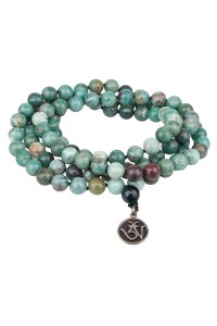Oster Collection Dragon Slayer Blood Jasper Mala | Oster Jewelers Blog