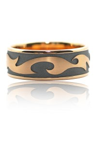 Furrer Jacot Rose Gold Wave Band | Oster Jewelers Blog
