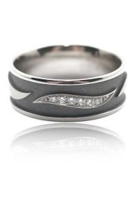 Furrer Jacot .05ctw Diamond Wave Band   Oster Jewelers Blog