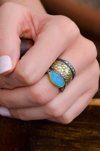 Melinda Risk Opal Mermaid Ring | Oster Jewelers Blog