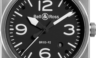 Bell Ross BR03 92 Steel | Oster Jewelers Blog