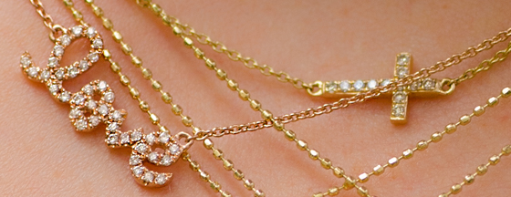 Valentine's Day Gift Idea: Petite Necklaces