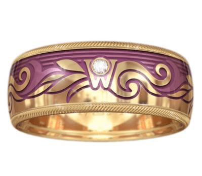 Wellendorf Rose Gold Ring