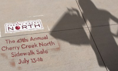 Cherry Creek North Sidewalk Sale at Oster Jewelers