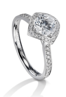 Furrer Jacot Lucienne Semi Mount Diamond Ring | Oster Jewelers