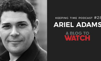 Ariel Adams | Owner, Publisher & Editor-in-Chief of A Blog to Watch. Photo from A Blog to Watch. Oster Jewelers