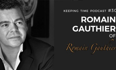 Romain Gauthier on Keeping Time with Oster Watches Podcast