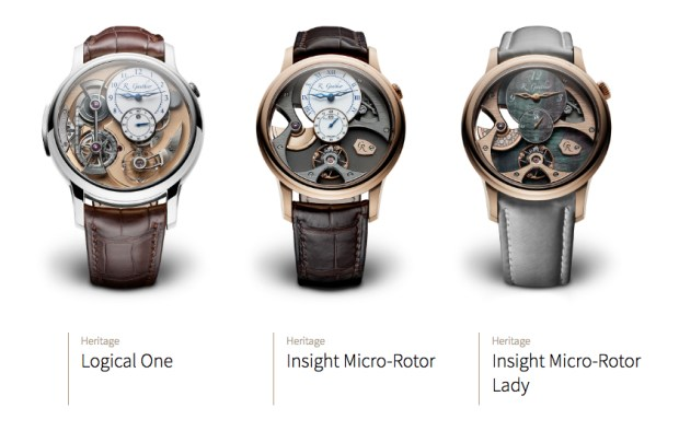 Romain Gauthier Watches _ Logical One, Insight Micro-Rotor, Insight Micro-Roto Lady