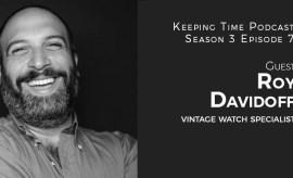Roy Davidoff - Vintage Watch Specialist