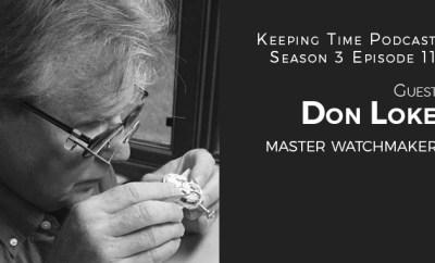 Don Loke American Master Watch Maker