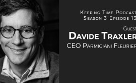 Davide Traxler | CEO Parmigiani Fleurier | Keeping Time with Oster Watches