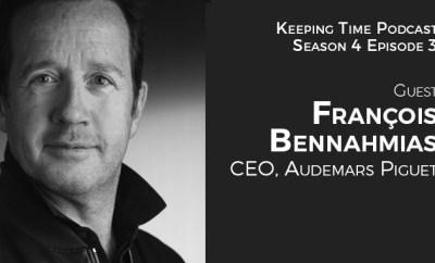 Francois Bennahmias, CEO Audemars Piguet
