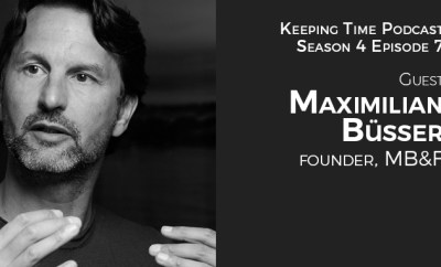 Maximilian Büsser | Founder of MB&F Watches