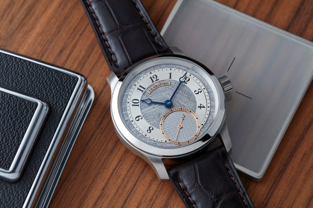 J.N. Shapiro Meteorite Infinity P.01 | Keeping Time with Oster Watches Podcast