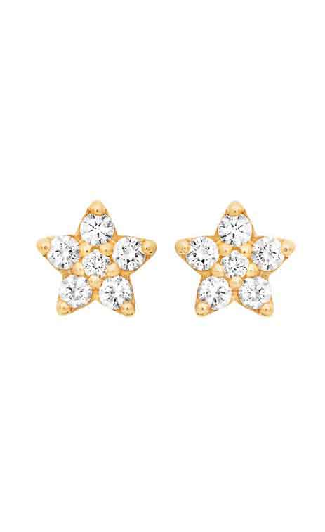 Ole Lynggaard - Shooting Star Diamond Studs - Resize