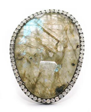 S & R Designs - Labradorite Ring
