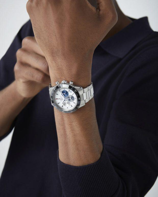 Zenith Chronomaster SPORT, shown on a stainless steel bracelet.