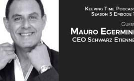 Mauro Egermini CEO of Schwarz Etienne