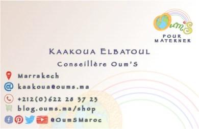 carte de visite B Kaakoua