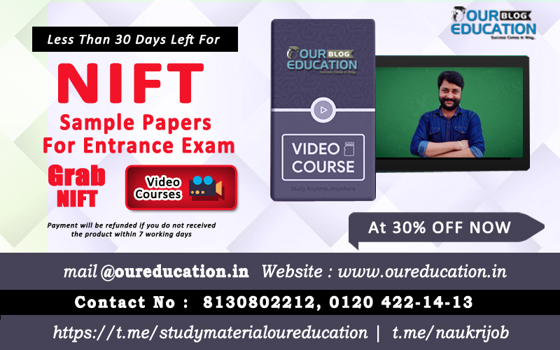 Sample Paper For Nift Entrance Exam With Its Pdf To Download
