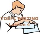 toefl test - Writing